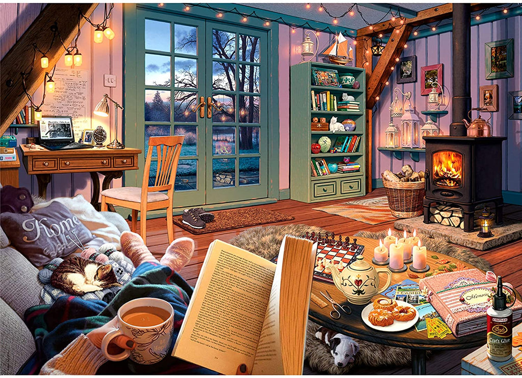 Cozy Retreat 500pc Large Format Puzzle