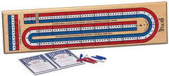 3 Track Color Cribbage Game