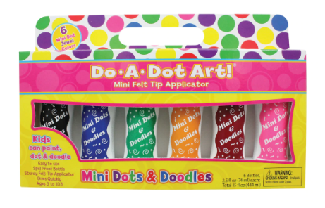 Do-a-Dot Art Art Mini Dots & Doodles Jewel Colors