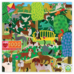 Dogs in the Park-1000 pc Puzzle
