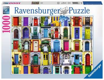 Doors of the World 1000pc Puzzle