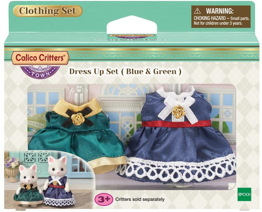 Blue & Green DressUp