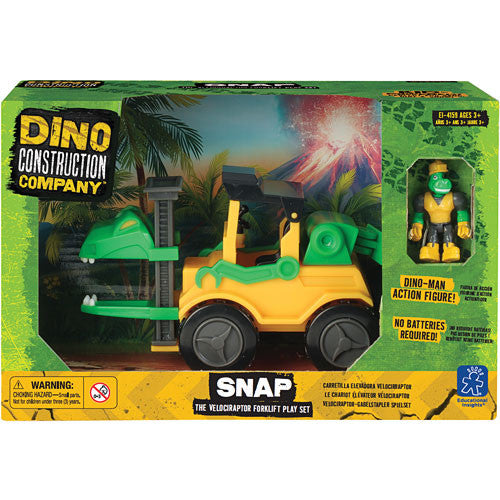 Snap Velociraptor Play Set