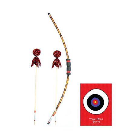 Flame Bow w/2 Arrows & Target