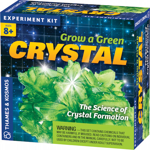 Green-Crystal Growing Pop