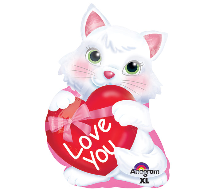 Kitty With Heart Junior Shape