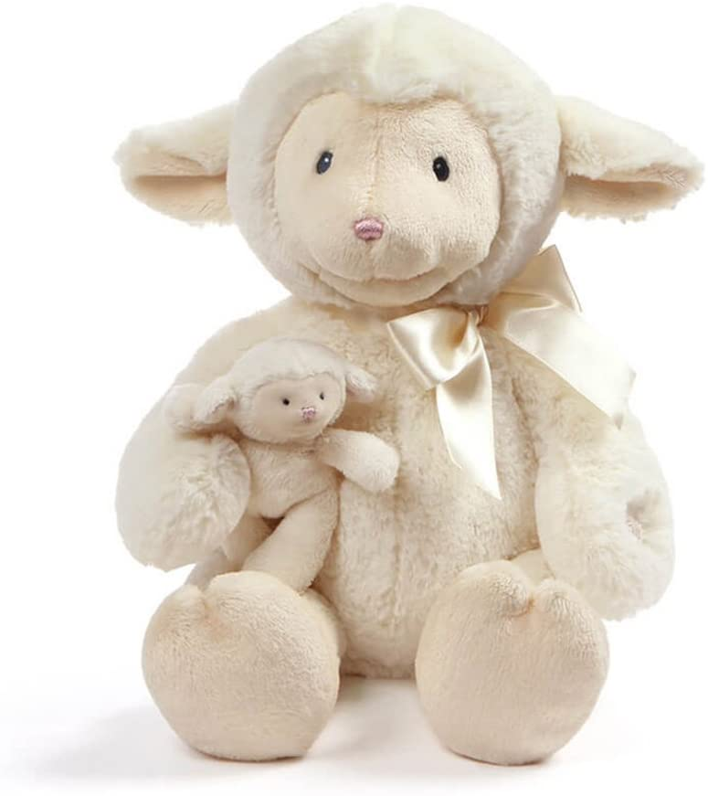Animated Nursery Time Lamb, 10 in