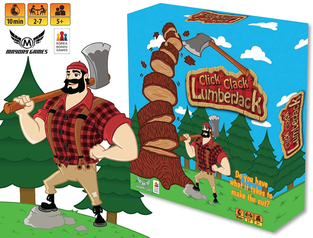 Click! Clack! Lumber Jack! Axe Game