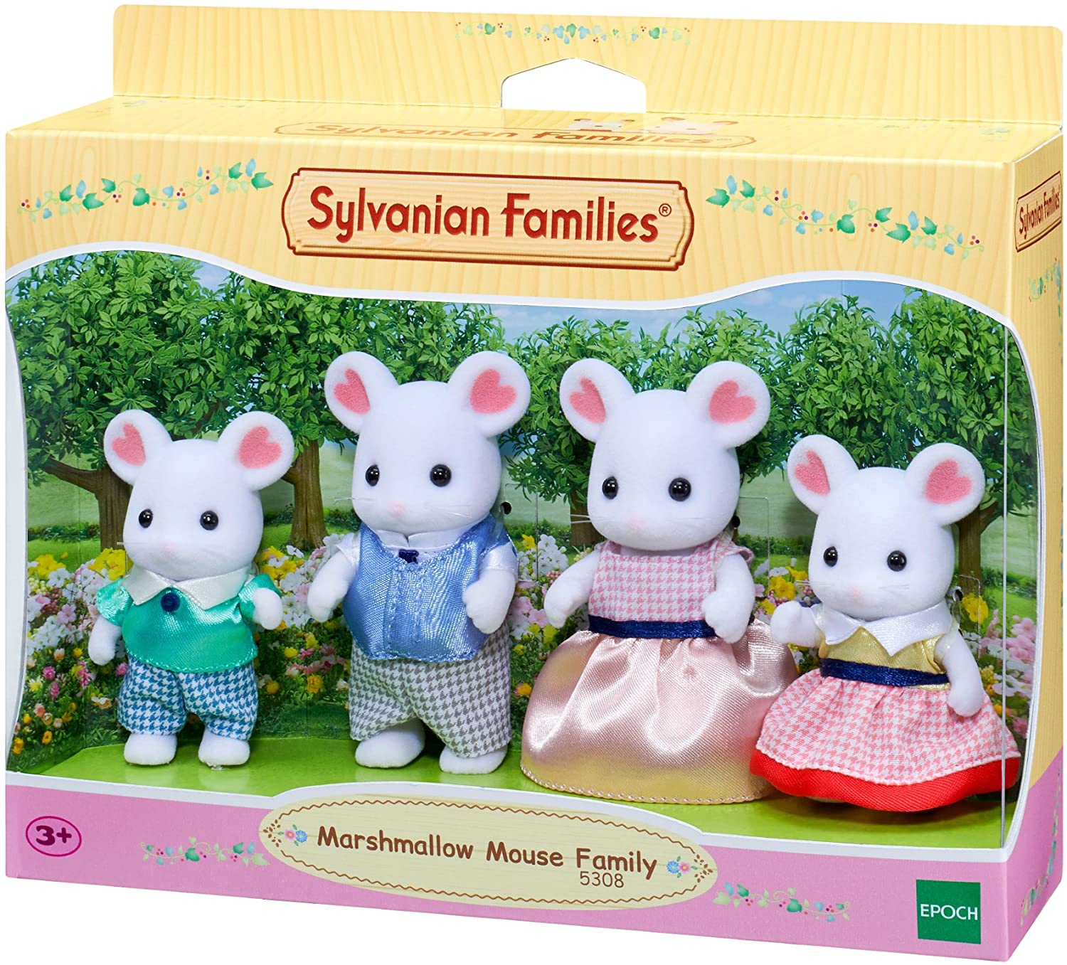 Marshmellow Mouse Family