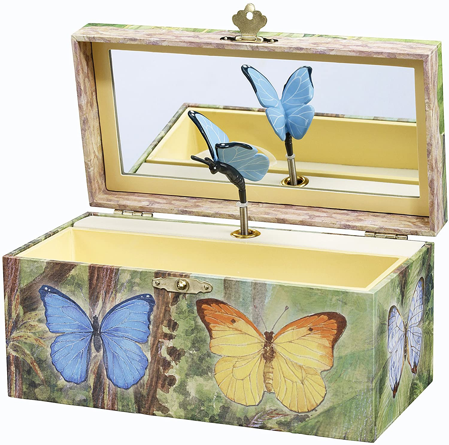 Butterfly Music Jewelry Box