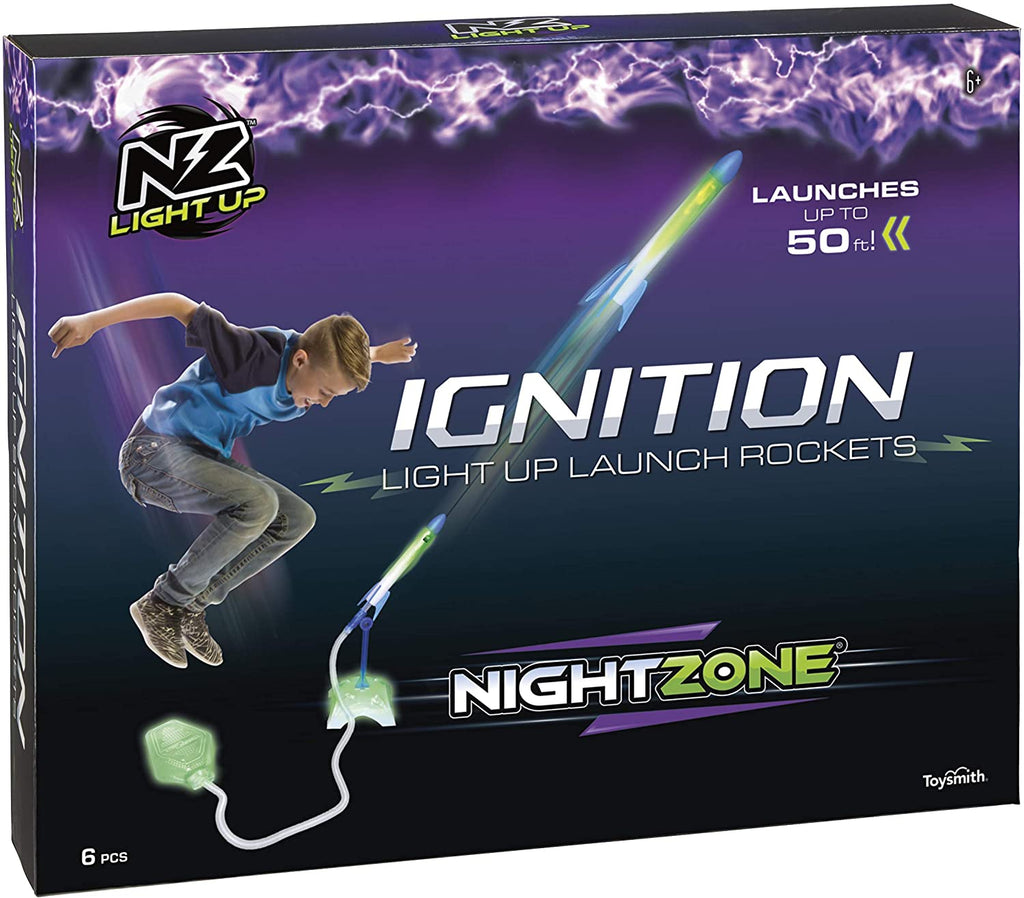 NightZone - Ignition Light Up Stomp Rockets