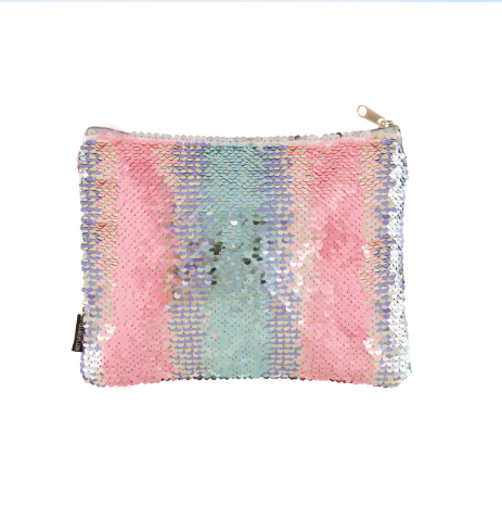 Fashion Angels Style Lab Magic Sequin Pouch - Pastel Gradient