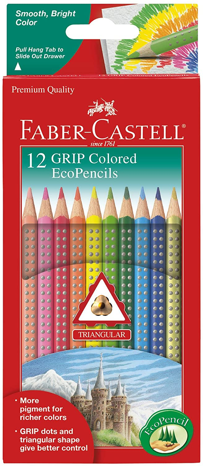 12ct Grip Colored EcoPencils
