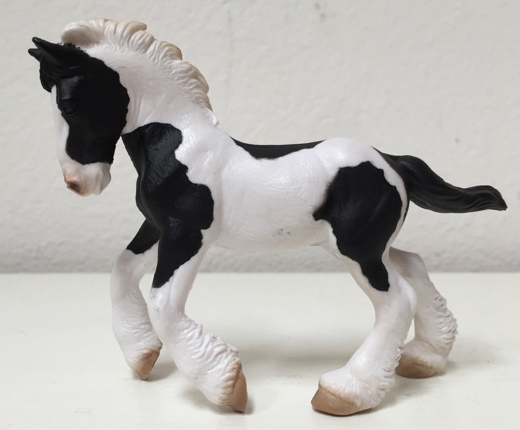 Breyer Black and White Piebald Gypsy Foal