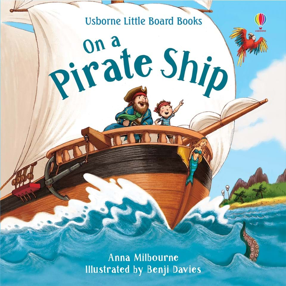 Little Board Books, On a Pirate Ship