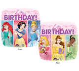 Multi-Princess Dream Big Happy Birthday 18""