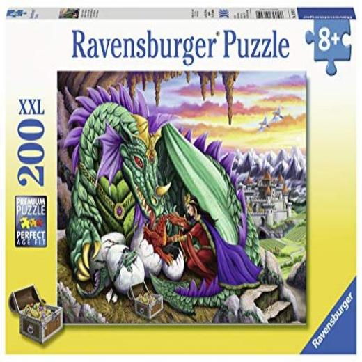 Queen of Dragons 200 pc. Jigsaw puzzle