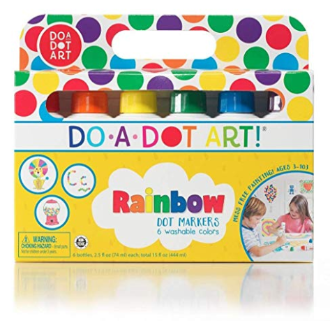 Do-a-Dot Art Rainbow Dot Markers 6-pack