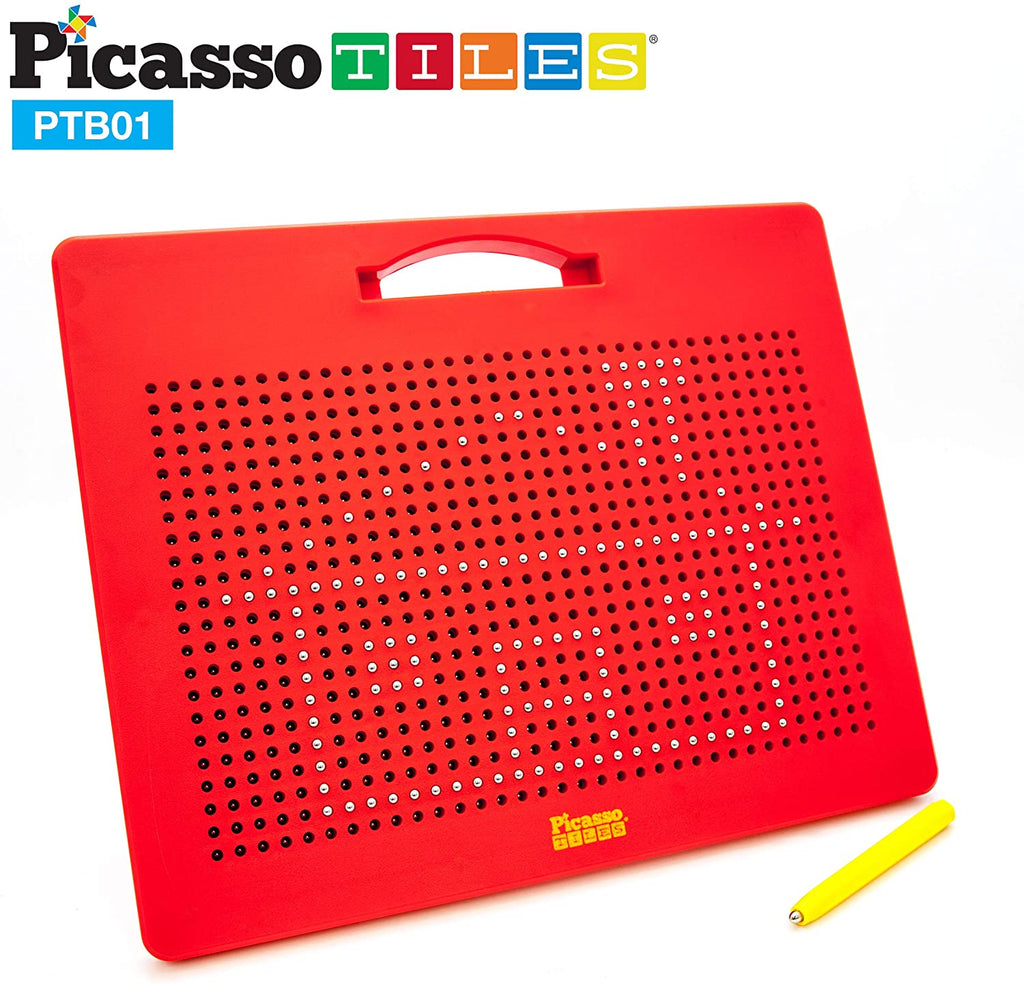 748 Beads Magnetic Drawing Board Red