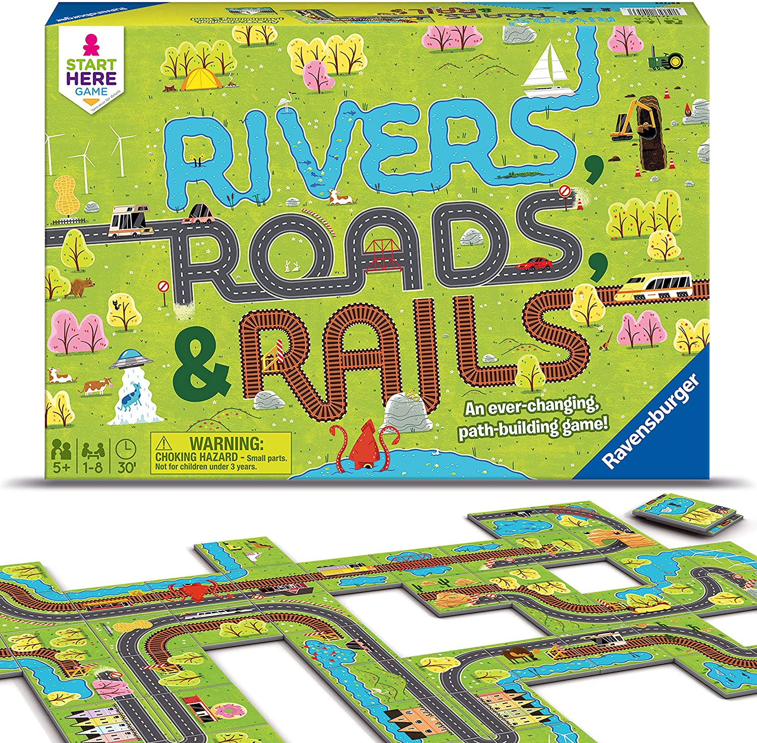 Rivers, Roads & Rails