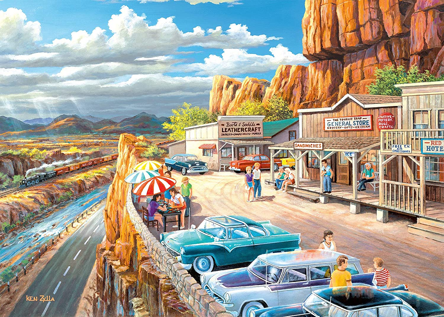 Scenic Overlook 500pc Large Format Puzzle