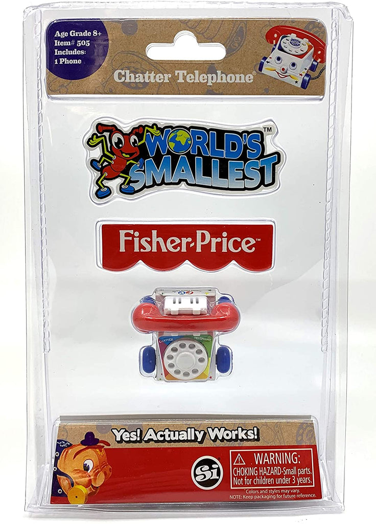 Smallest Fisher Price