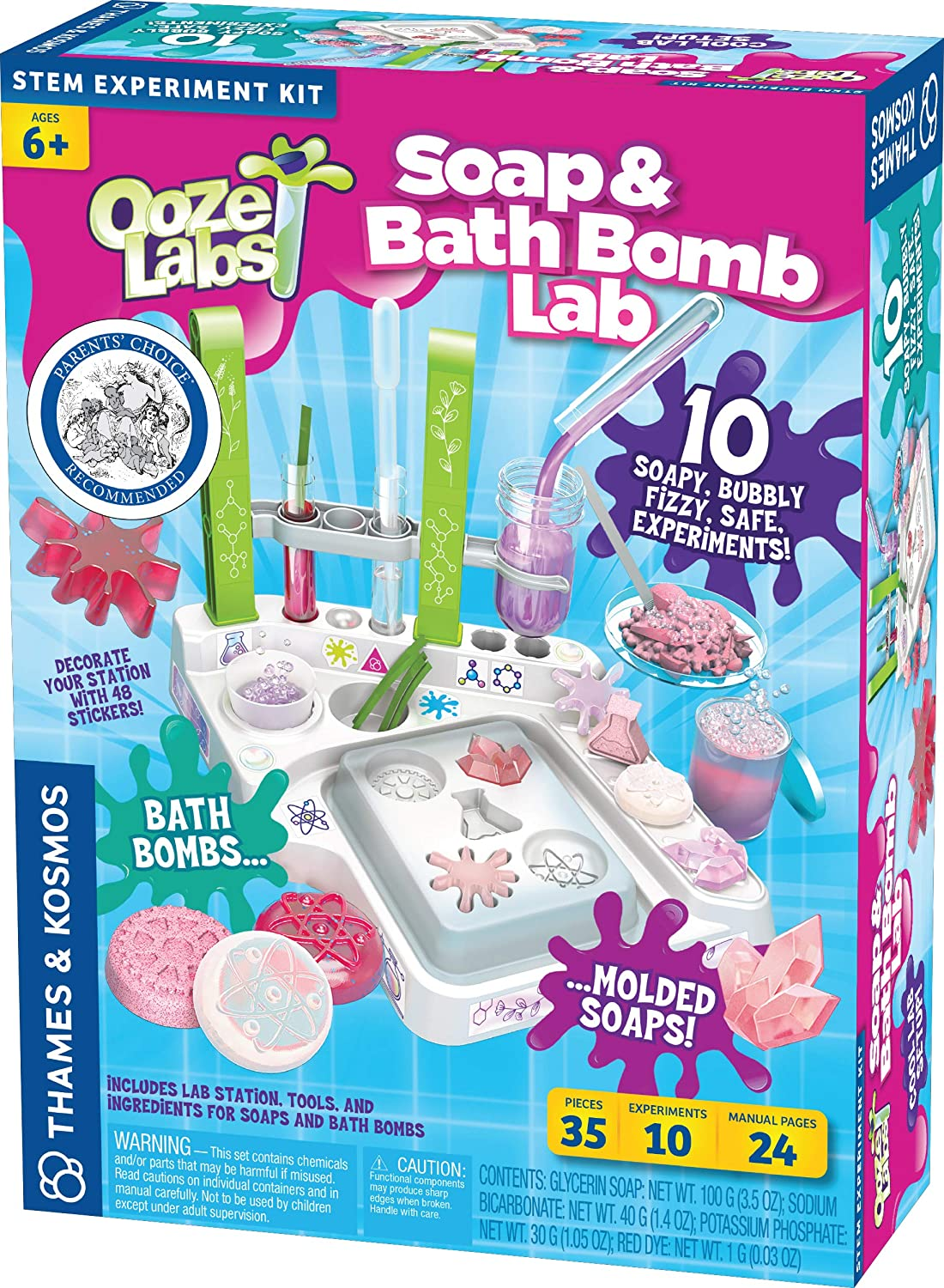 Soap & Bath Bomb Lab Ooze Labs