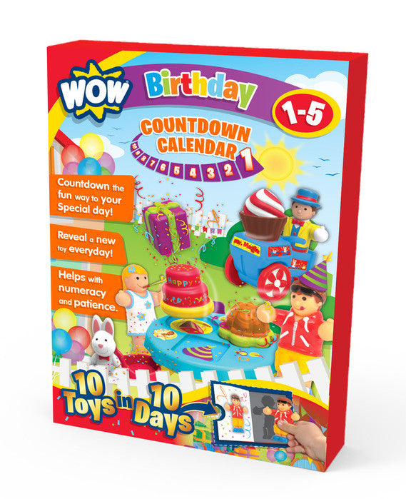 Birthday Countdown Calendar