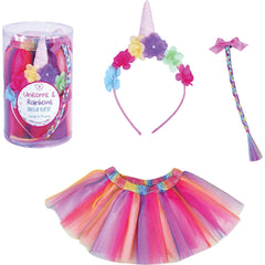 Unicorns & Rainbows Dress Up Play Set