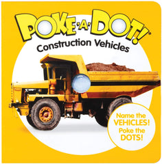 Construcion Vehicles My First Poke a Dot
