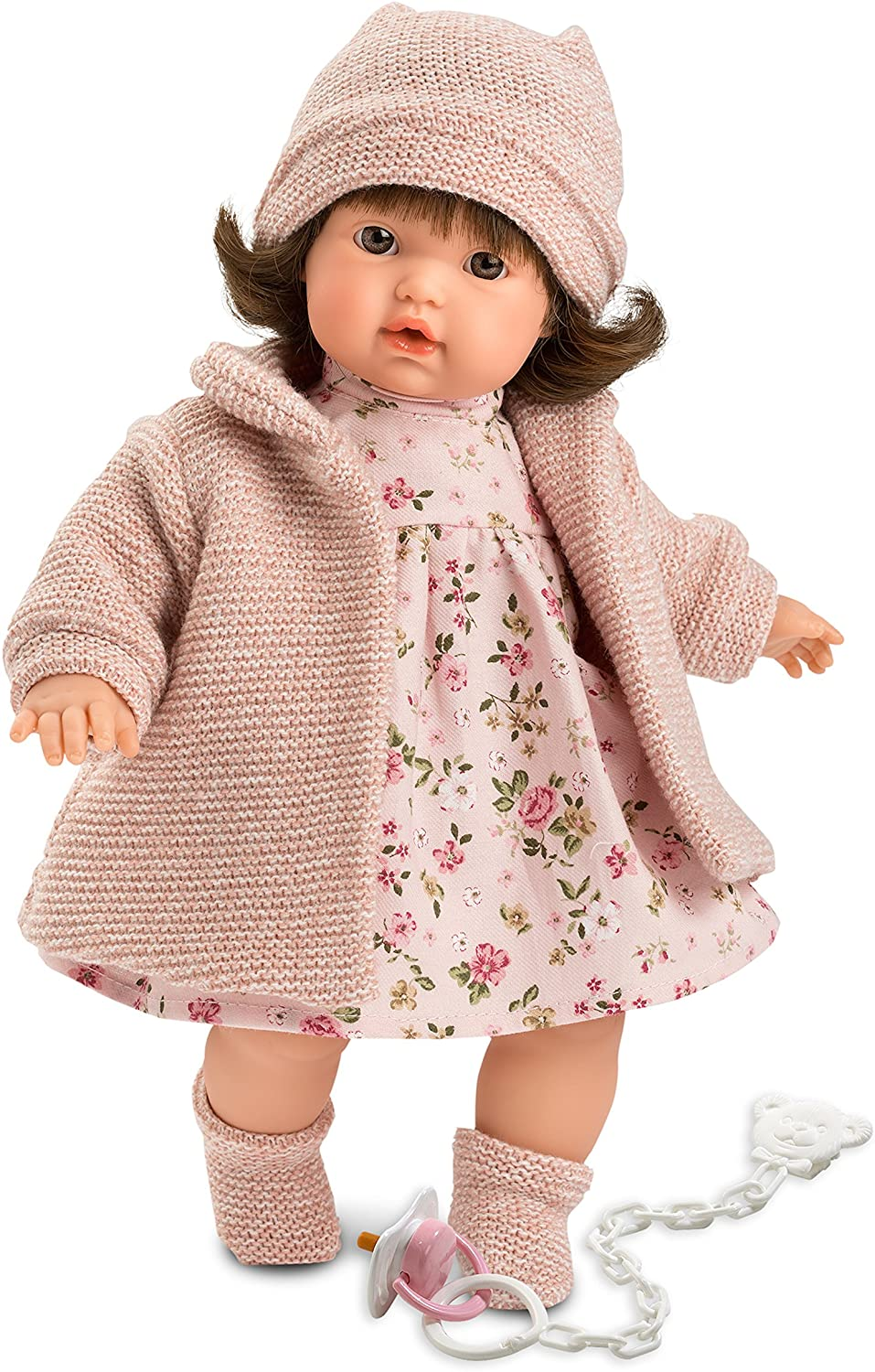 "Victoria 13"" Crying Soft Body Baby Doll"