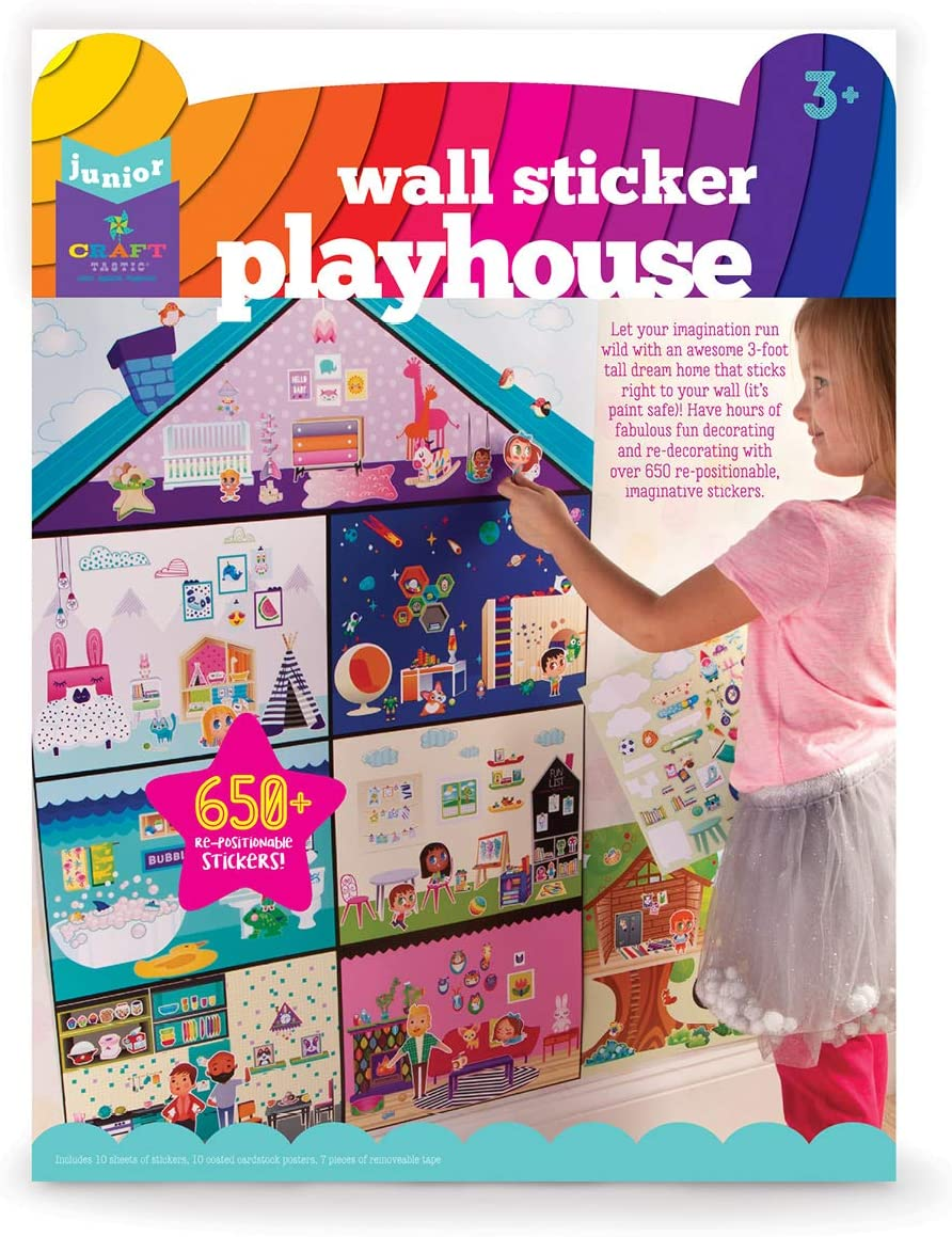 Jr Wall Sticker Playhouse Craft-Tastic