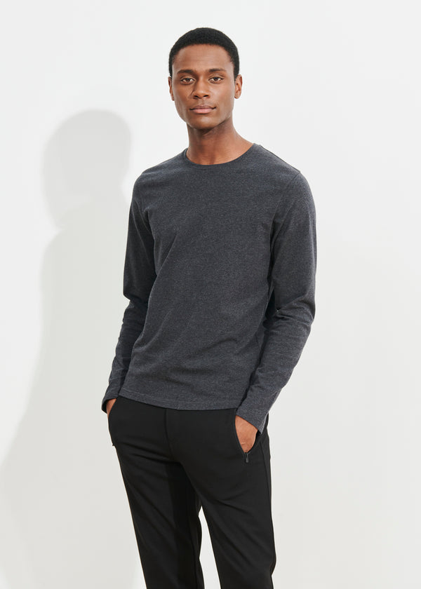 PIMA COTTON STRETCH T-SHIRT | PATRICK ASSARAF | Luxury Fashion.