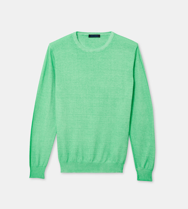 MEN'S COTTON COLD DYE SWEATER | PATRICK ASSARAF | Luxury Fashion.
