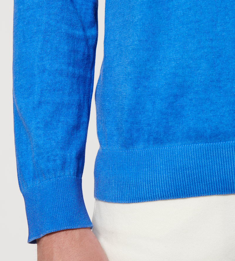 MEN'S COTTON COLD DYE SWEATER - PATRICK ASSARAF