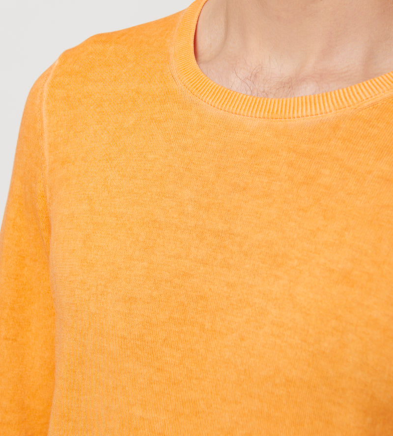 COTTON COLD DYE SWEATER