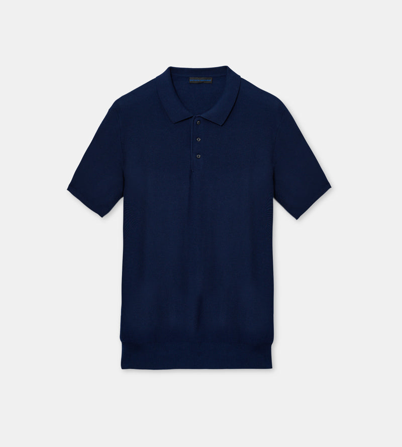 MEN'S COTTON KNIT POLO - PATRICK ASSARAF