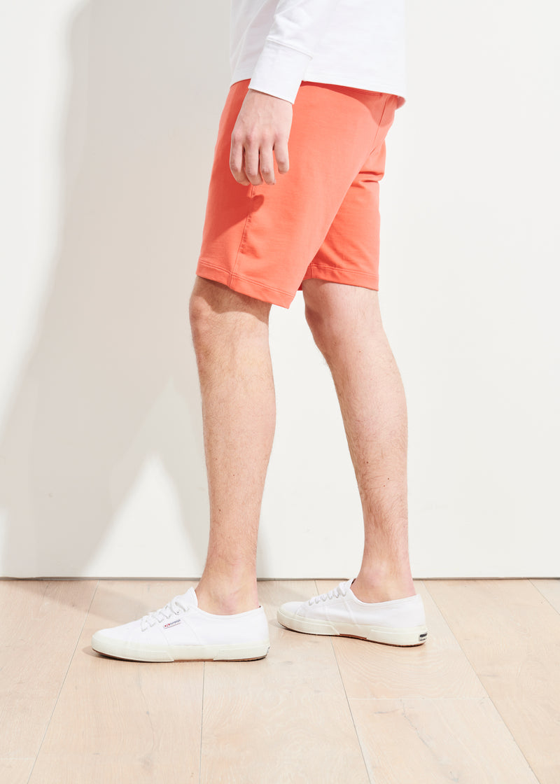 PIMA COTTON FRENCH TERRY SHORT | PATRICK ASSARAF | Luxury Fashion.