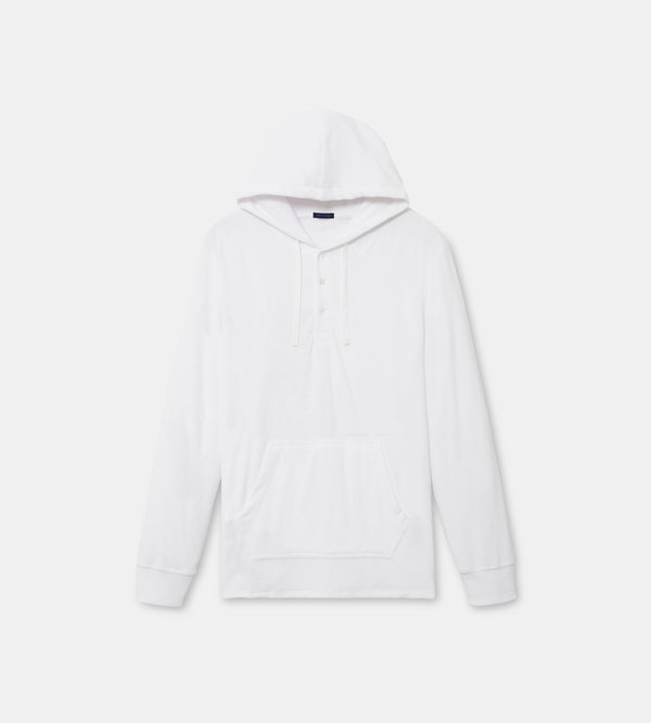 MEN'S COTTON TERRY CLOTH HOODIE | PATRICK ASSARAF | Luxury Fashion.