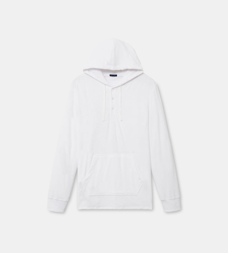 MEN'S COTTON TERRY CLOTH HOODIE - PATRICK ASSARAF