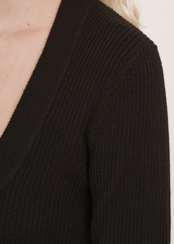 FITTED SCOOP SWEATER | PATRICK ASSARAF | Luxury Fashion.