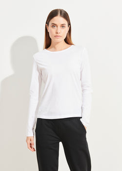 LIGHTWEIGHT PIMA COTTON T-SHIRT - PATRICK ASSARAF