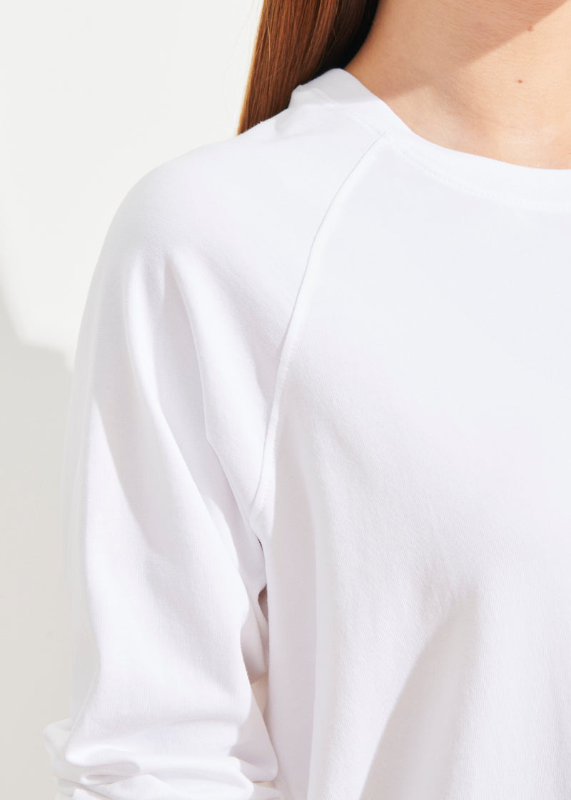 PIMA COTTON STRETCH OVERSIZED SWEATSHIRT - PATRICK ASSARAF
