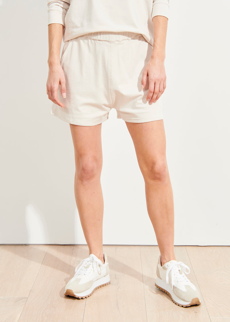 PIMA COTTON STRETCH SHORT - PATRICK ASSARAF