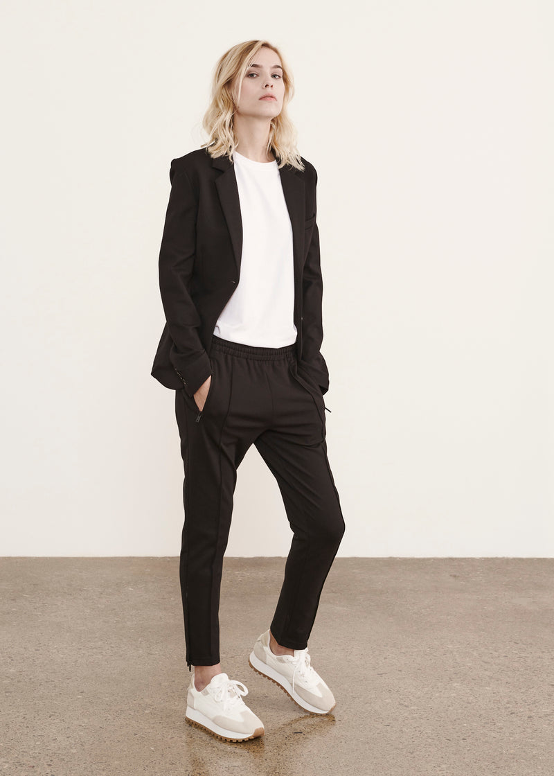 STRETCH TRACK PANT | PATRICK ASSARAF | Luxury Fashion.