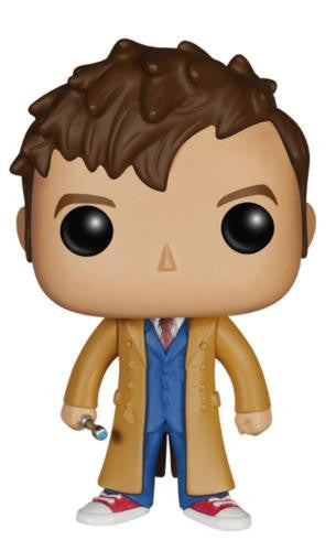 funko pop television doctor who tenth doctor vinyl action