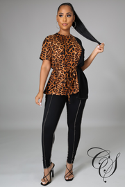 Ashley Purrfect Legging Set