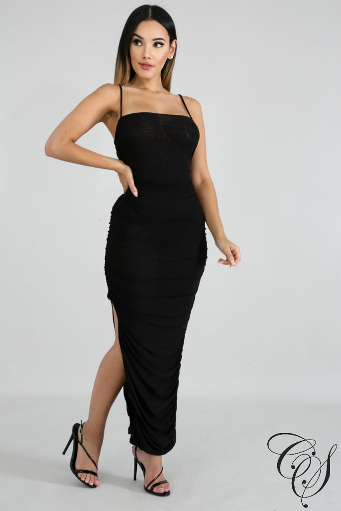 Camila Vigorous Sheer Dress, Dresses - Designs By Cece Symoné