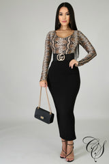 Charm Midi Dress, Dresses - Designs By Cece Symoné