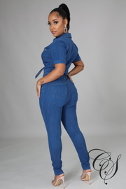 Dakiti Denim Jumpsuit